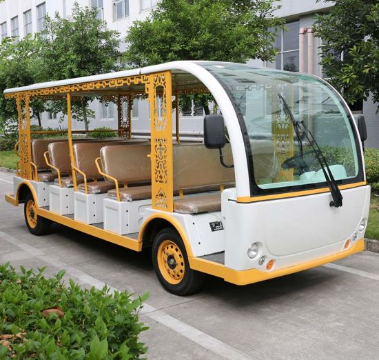 Battery Powered 23 Seats Electric Tourist Car (DN-23) pictures & photos