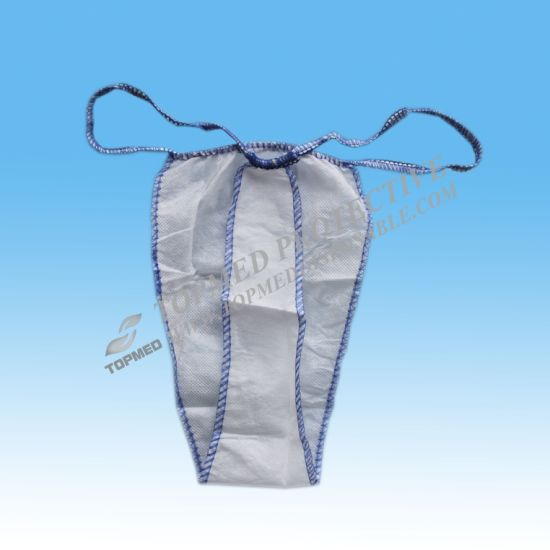 Disposable Thong Panties, String Tanga, Disposable Tangas for Men and Women pictures & photos
