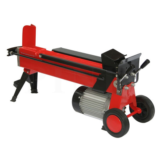 220V Electric Log Splitter with Small Wheel Easy Carry