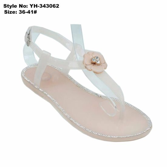 5d01dbfd12cb China Wholesale Low MOQ Women Sandals Low Heel Ladies Fancy Sandal ...