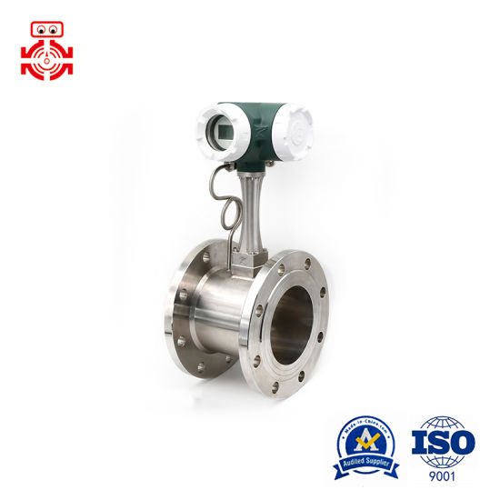 4~20mA Output Vortex Flow Meter Used on Measuring Compressed Air/Liquid/Steam