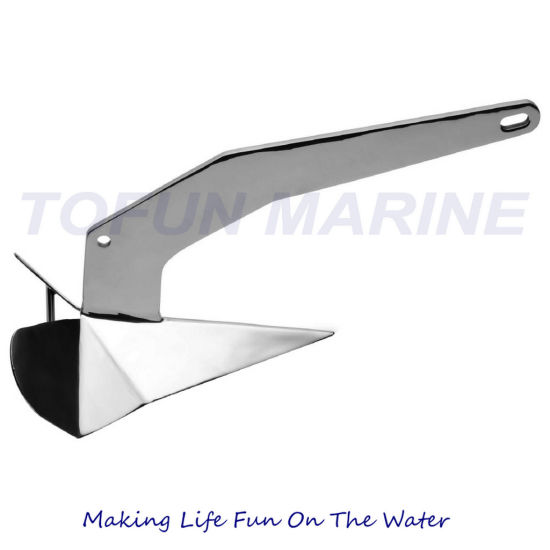 AISI316 Stainless Steel Boat Anchor Delta Anchor