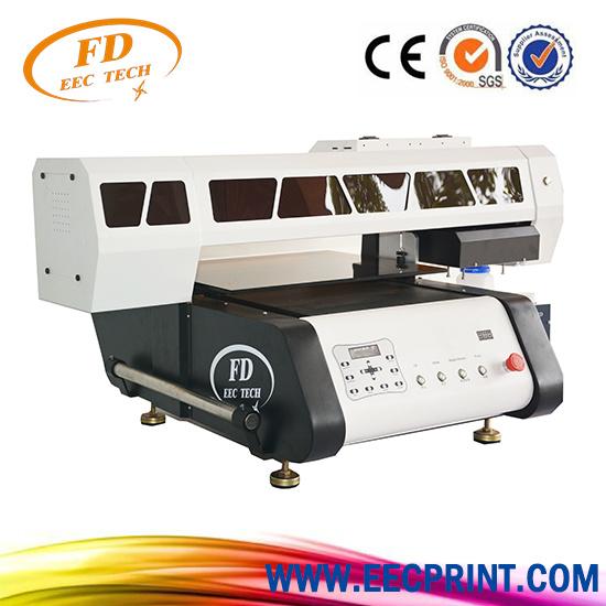 Bulk UV Printing on Wood 60*90cm UV LED Printer-UV Printer for Bottles, UV Printer with Rotary