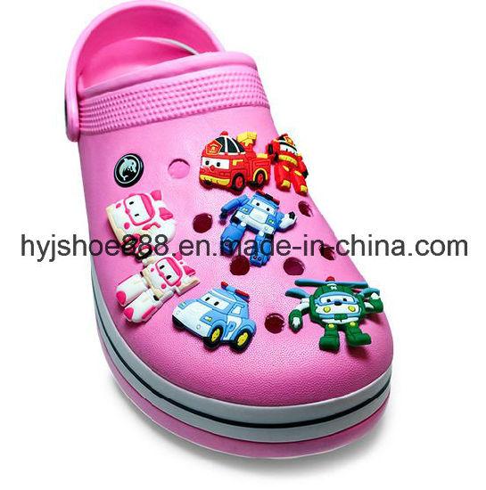 Wholesale OEM PVC Garden Shoes Accessories Decoration Shoe Charms Jibbitz Shoe Clips Button Buckle