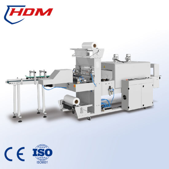 Automatic Sleeve Sealing Shrink Packing Machine for Boxes with Hanger