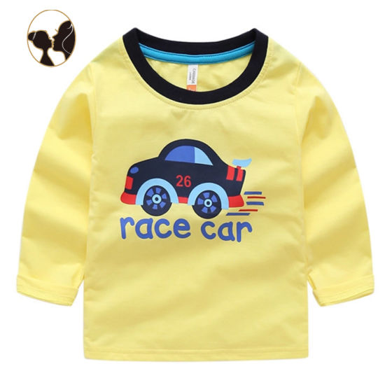 Race Car Casual Baby Daily Wearing Clothes