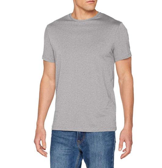 New Men Merino Wool Crew Neck Short Sleeve T Shirt