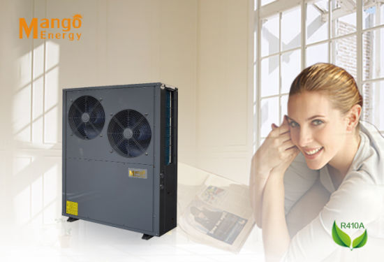 9kw to 250kw Heating+Cooling Air Cooled Heat Pump for Industrial