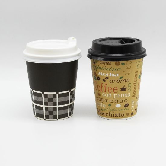 China Wholesale Custom Disposable PLA Coating Paper Coffee