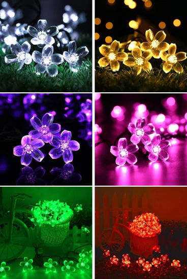 Holiday Lighting LED Decorative Flower Light Ceiling LED Light Outdoor Tree Light