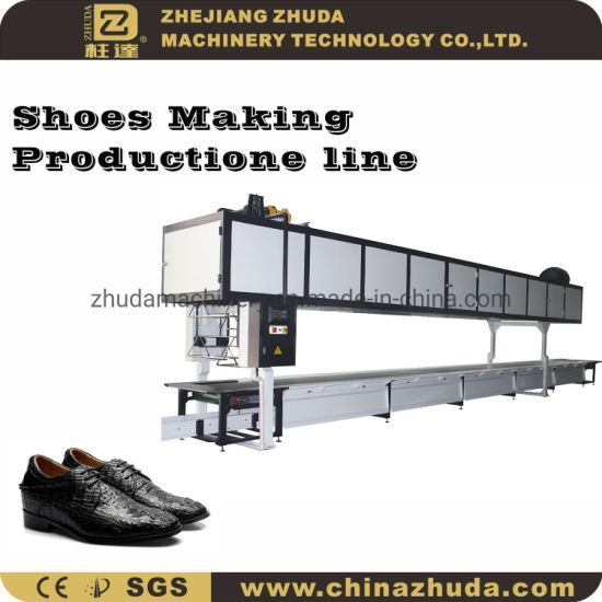 Leather Shoes Making Production Conveyor for Upper Lasting