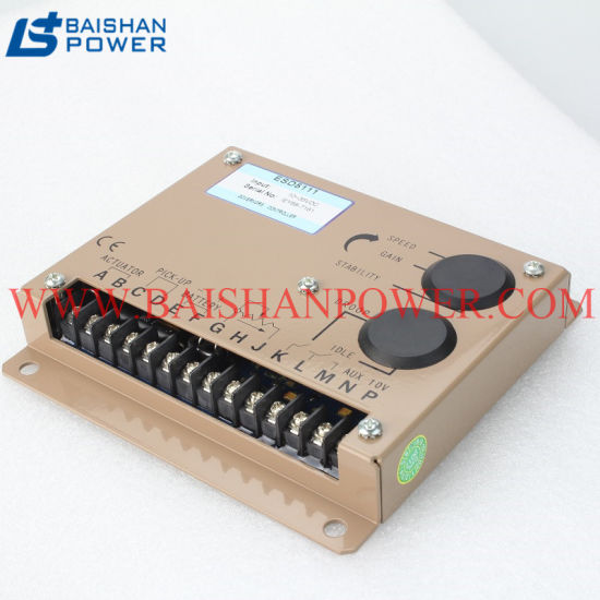 China Electronic Governor for Generator Speed Control Unit