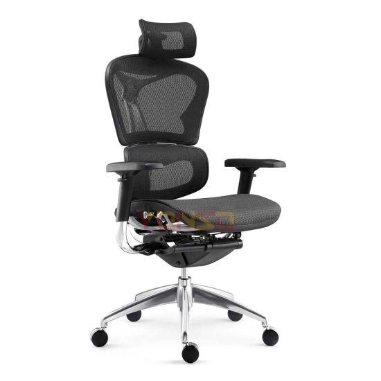 Modern Mesh Ergonomic Executive Office Chair with Sliding Seat