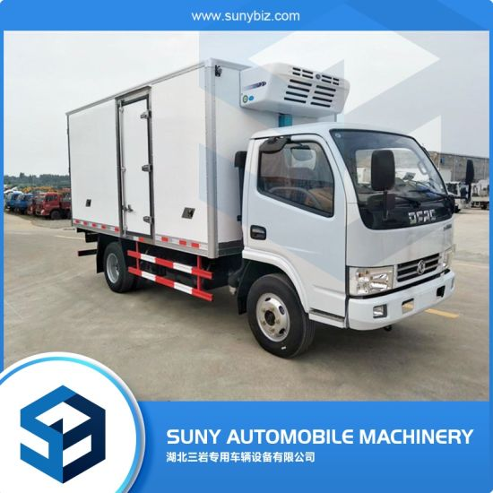 2-5tons LHD Rhd Refrigerator Van Truck for Meat and Fish pictures & photos