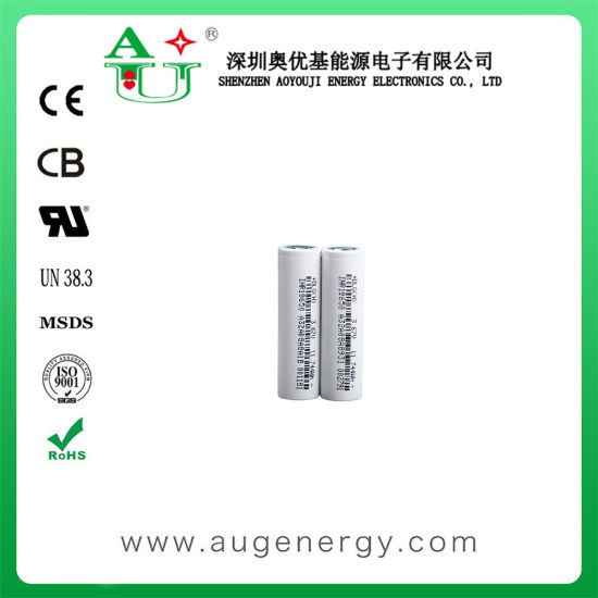 Rechargeable 3.7V 3200mAh Rechargeable Lithium Ion Battery Cell