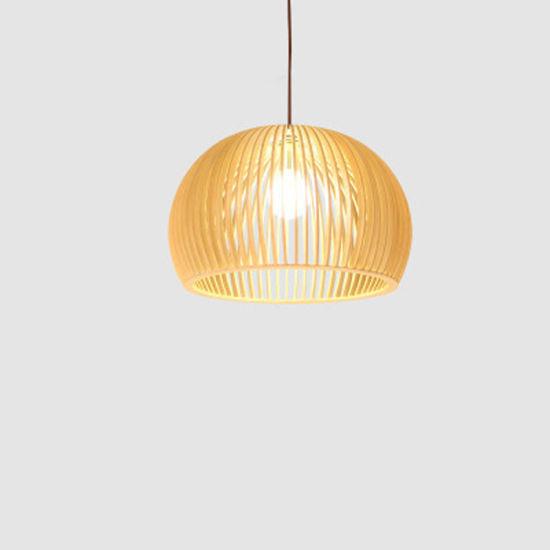 Decorative Light Modern Pendant Lamp with Bamboo for Restaurant