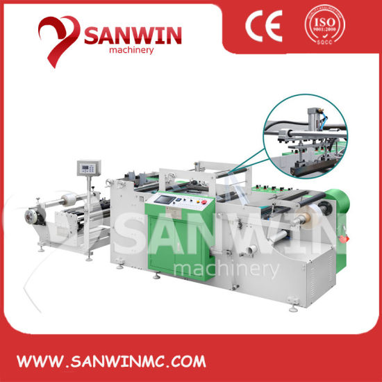 Automatic BOPP/CPP/PE Film Hot Sealing Machine with EPC Device