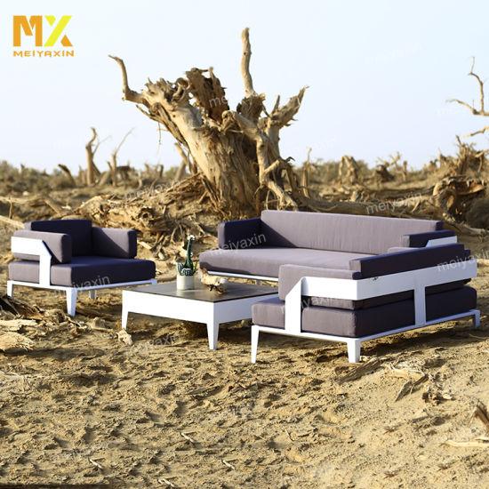 Myx Outdoor Modern Design Furniture Garden Sofa Set (accept customized)