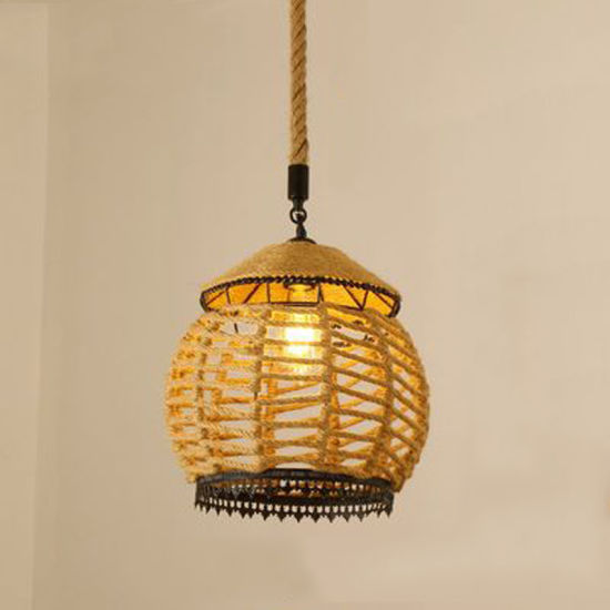 Home modern Pendant with Rope for Indoor Lighting Decoration