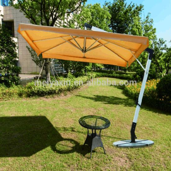 Side Pole Polyester Promotional Outdoor Garden Beach Umbrella