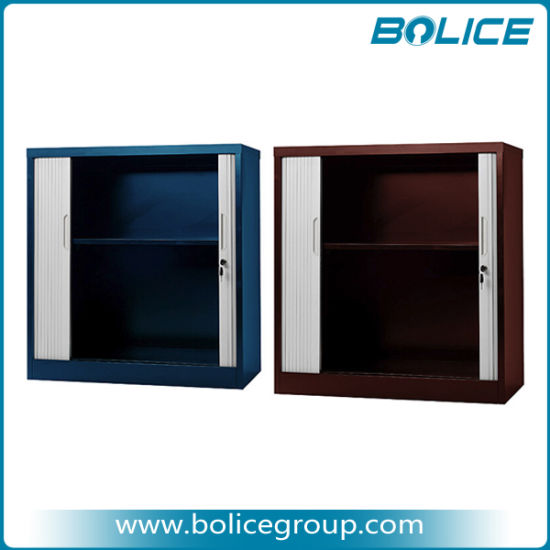 950mm Height 2 Tambour Door Steel Cupboard pictures & photos
