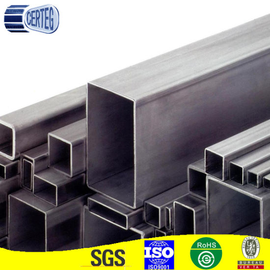 Carbon Steel Square and Rectangular Hollow Section Pipe Tubing (CT-14)