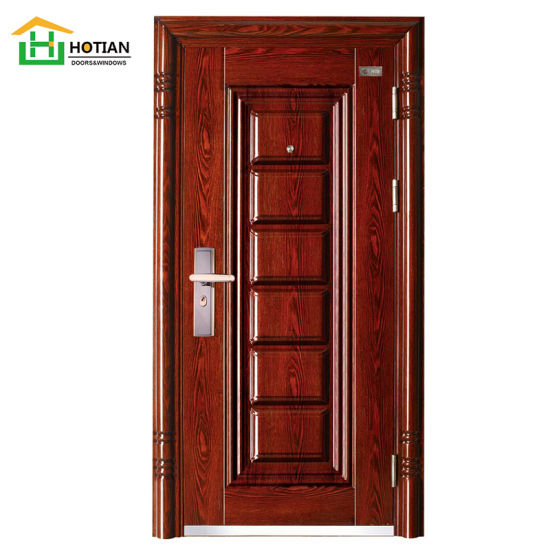 Bullet Proof Security 6 Panel Entry Stainless Steel Door Used Exterior Doors For Sale China Double Entry Door Steel Double Doors Made In China Com