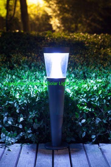 Environmental Friendly Solar Bollard Garden Light with LiFePO4 Lithium Battery