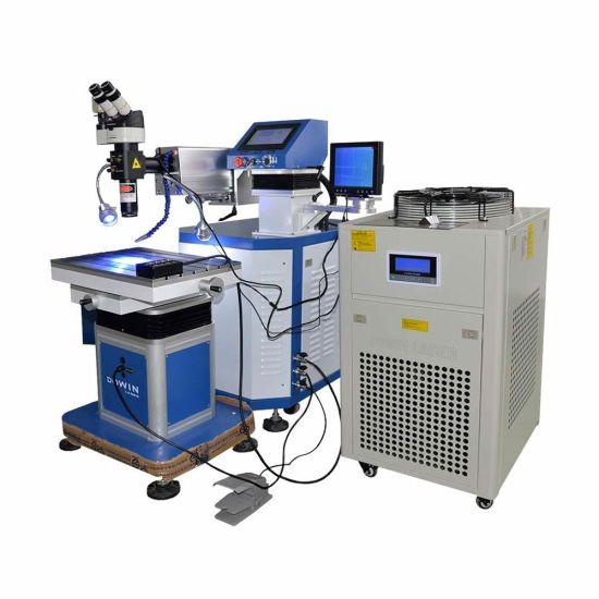 EU Quality Standard Metal Aluminum Nickel Titanium Copper Laser Welding Machine YAG Vision Robot Arms Laser Welder Price
