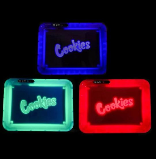 Cookies LED Rolling Tray Glow Tray all colors