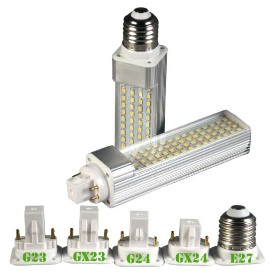 China Manufacturer G24 G23 E27 11W LED Pl Light pictures & photos