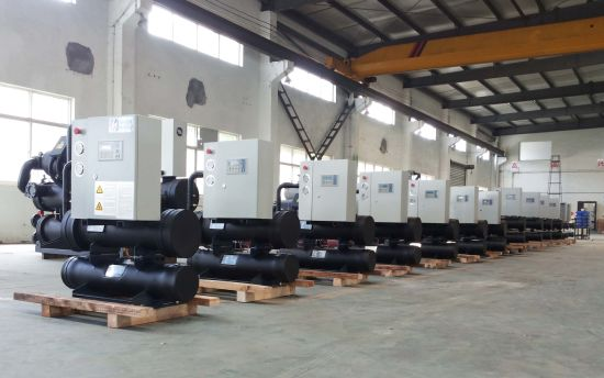 Plywood Packing Chiller Water Ground Source Chiller