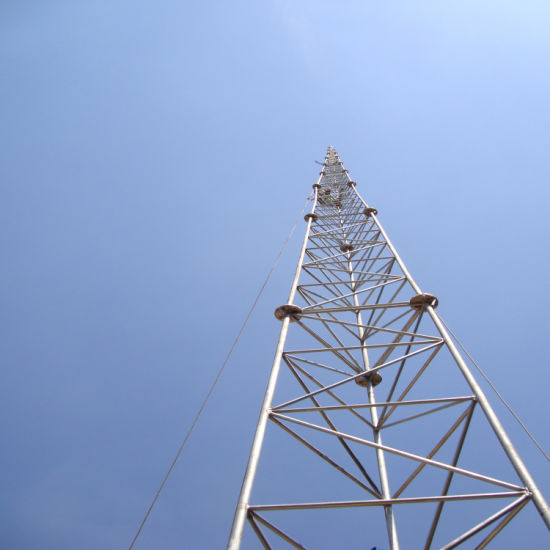Hot Sale Mobile Tower, Microwave Tower for Communication