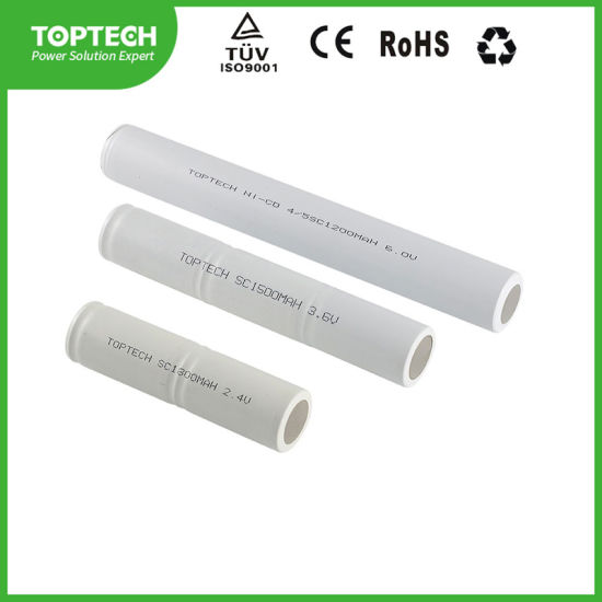 Rechargeable Sc1500mAh 3.6V Ni-CD Battery / Flashlight Battery for Torch and LED Lighting pictures & photos