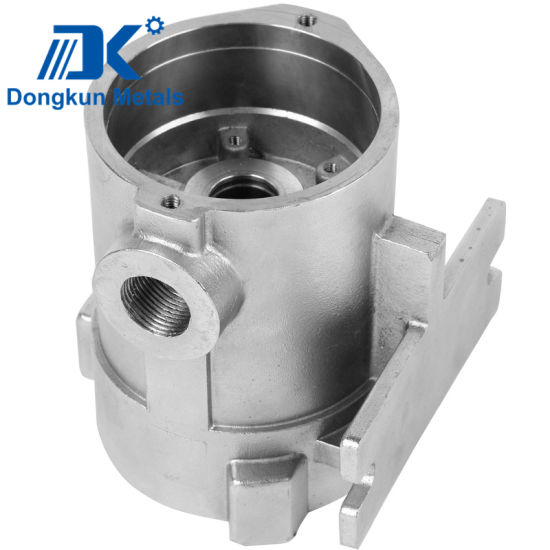 Wholesale Precision Steel Investment Casting Valve Body with Electropolishing