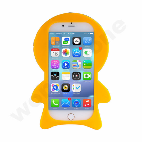 China New 3d Cute Cartoon Silicone Back Rubber Cover Case For Iphone 7 7 Plus China Mobile Phone Case Iphone 7 And Custom Silicone Case Price