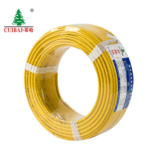 PVC Insulated Copper Conductor BV Electric Wire for Home/ Office