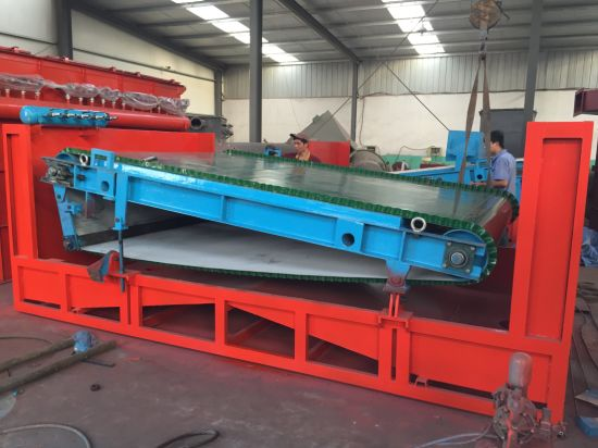 Wet High Gradient Permanent Sand Magnetic Separator Machine for Magnetic Metal Separation