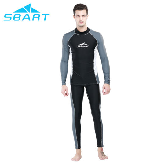 Sbart Two Pieces Long Sleeves Swimming Suits pictures & photos