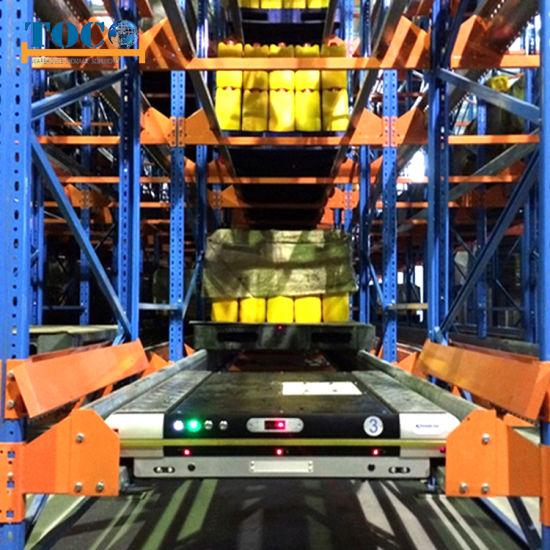 Electric Mobile Shuttle Shelving/Racking for Warehouse