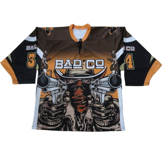 1c0ed2073c7 China Sublimation Professional Design Custom Ice Hockey Jersey for ...