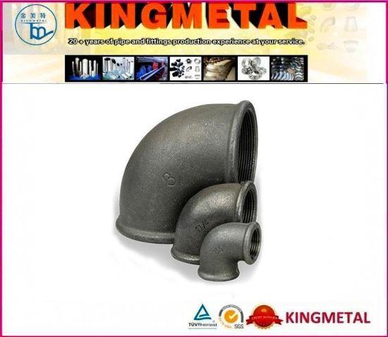 En10242 Black Malleable Iron Pipe Fittings