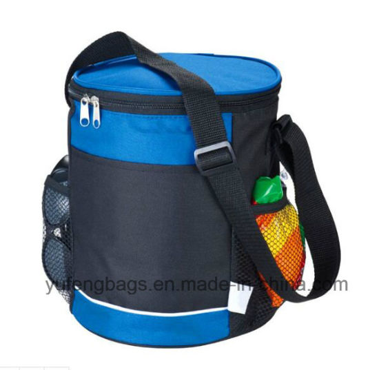 Promotion Gift Item Wholesale Cylindrical Insulated Cooler Bags