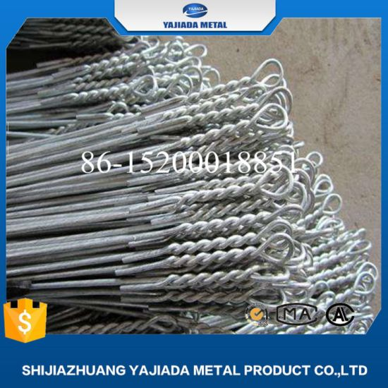 China Hot Dipped Galvanized Cotton Baling Wire - China Quick Link ...