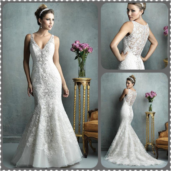 Gorgeous Mermaid Trumpet Wedding Dresses 2015 Cheap Sweetheart