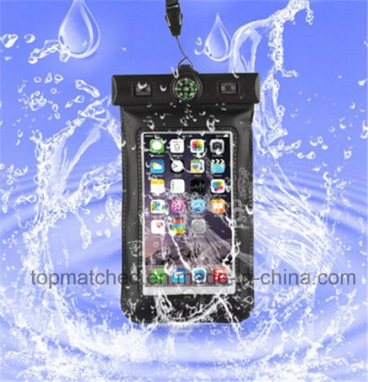 Hot Sale Leather Phone Bag&Case Waterproof Mobile Case Customized Waterproof Phone Bag pictures & photos