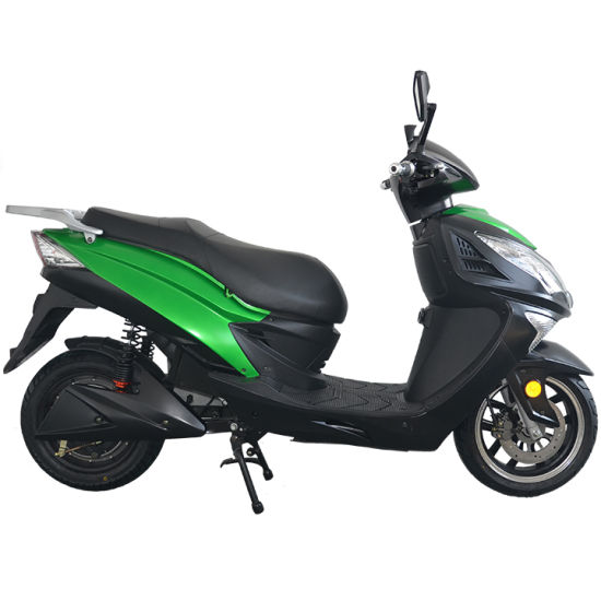 Electric Scooter with Pedal 72V Battery 1200W 50km/H Tdr72k610 pictures & photos