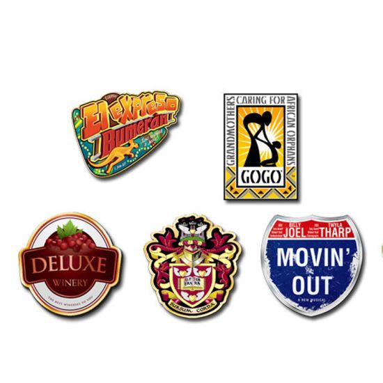 Custom Offset Digital Pins Lapel Pin Badges for Promotion pictures & photos