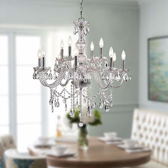 China Modern K9 Crystal Chandelier