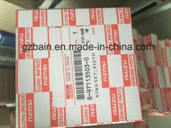 Isuzu 3ld1 Original Piston Ring Made in Japan for Sh35 Excavator Diesel  (8-97113503-1/8-97113503-0)